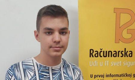 Интервју: Милош Милутиновић – добитник сребрне медаље на ЕЈОИ